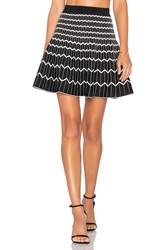 Egrey Zig Zag Reversible Skirt White