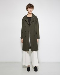 Raquel Allegra Military Trench