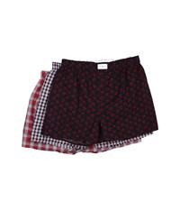 Tommy Hilfiger Woven Boxer 3 Pack Multi Men's Underwear