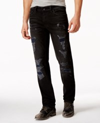Guess Original Straight Fit Destroyed Jeans