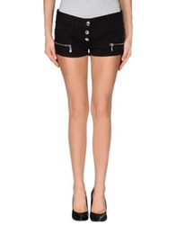 Blugirl Folies Denim Shorts Black