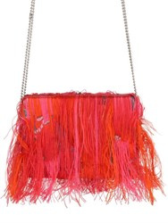 Gianluca Capannolo Fringed Jacquard And Fil Coupe Clutch