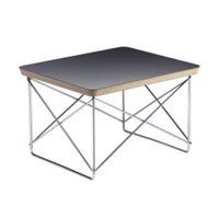Eames Ltr Table Black