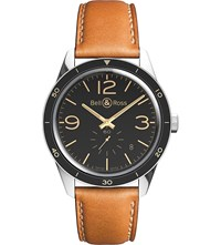 Bell And Ross Vintage Br 123 Heritage Watch Black