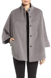 Charles Gray London Women's Wool Blend Cape Coat Grey