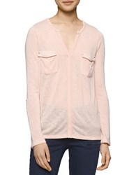 Calvin Klein Jeans Solid Shirt With Cargo Pockets Oxidized