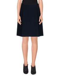 Alpha Studio Skirts Knee Length Skirts Women Dark Blue