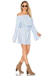 Faithfull The Brand Naumi Dress Baby Blue
