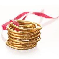 Budhagirl All Weather Serenity Bangles Gold