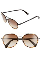 Men's Jack Spade 'Fletcher' 54Mm Sunglasses Striated Brown Brown Gradient