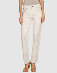 Victoria Beckham Denim Pants Light Grey