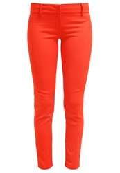 Patrizia Pepe Trousers Couture Red