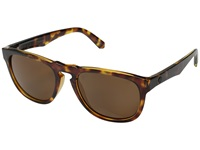 Electric Eyewear Leadfoot Tort Shell Melanin 1 Bronze Polarized Polarized Fashion Sunglasses Animal Print