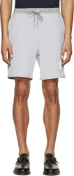 Thom Browne Grey Honeycomb Lounge Shorts