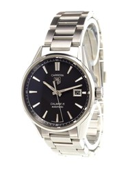 Tag Heuer 'Carrera Calibre 5' Analog Watch Stainless Steel