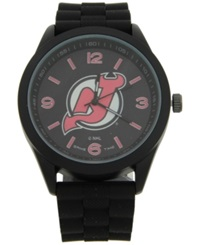 Game Time New Jersey Devils Pinnacle Watch Black
