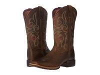 Ariat Hybrid Rancher Distressed Brown Cowboy Boots