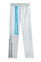 Moschino Printed Sweatpants Grey