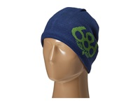 686 Wreath Fleece Beanie Indigo Knit Hats Blue