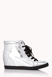 Forever 21 Standout Wedge Sneakers