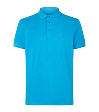 Vilebrequin Pacific Terry Cloth Polo Shirt Male Blue