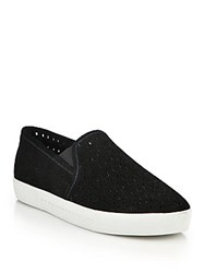 Joie Huxley Suede Slip On Skate Sneakers Dove