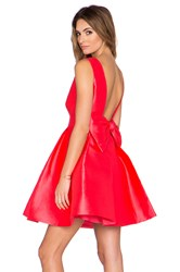Kate Spade Open Back Mini Dress Pink