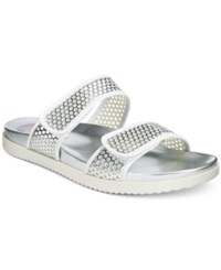 Easy Spirit Maelina Sandals Women's Shoes Silver White