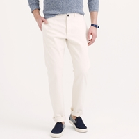 J.Crew Wallace And Barnes Selvedge Chino In Natural Japanese Cotton