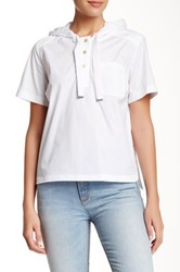 Marc By Marc Jacobs Hooded Shirt White