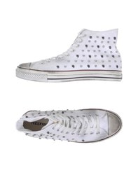 Happiness Footwear High Tops And Trainers Men White