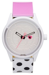 Harajuku Lovers Resin Solar Watch 40Mm Limited Edition Pop Of Color