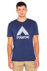 Altru X Polaroid Triangle Tee Blue
