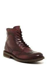 Rogue William Wingtip Boot Red