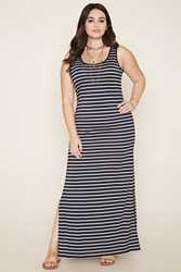 Forever 21 Plus Size Striped Maxi Dress