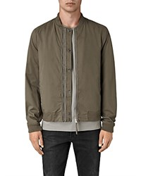 Allsaints Oslo Jacket Dark Army Green