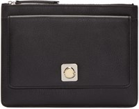 Carven Black Zip Pouch