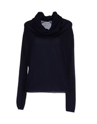 Private Lives Turtlenecks Dark Blue