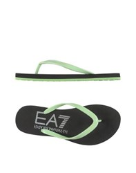Emporio Armani Ea7 Footwear Thong Sandals Women Black
