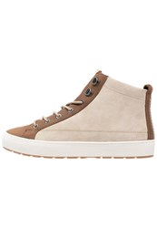 Pointer Soma Trek Hightop Trainers Latte Light Brown