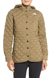 The North Face Women's Thermoball Tm Primaloft And Faux Fur Jacket