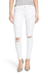 Women's Hudson Jeans 'Nico' Mid Rise Distressed Ankle Skinny Jeans Dreamer
