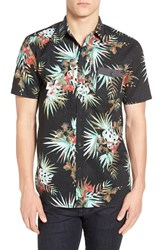 Rip Curl Men's 'Botanical' Floral Print Short Sleeve Woven Shirt