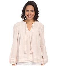 Sanctuary Zingara Tunic Cream Women's Blouse Beige