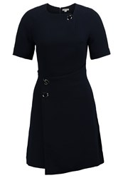 Whistles Jade Summer Dress Navy Dark Blue