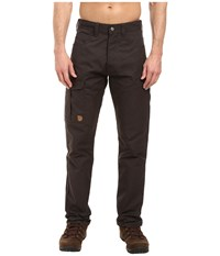Fjall Raven Greenland Jeans Dark Grey Men's Jeans Gray