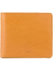 A.P.C. 'London' Wallet Nude And Neutrals