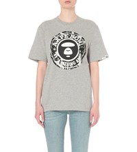 Aape By A Bathing Ape Logo Print Cotton Jersey T Shirt Gy2