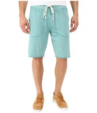 Alternative Apparel Victory Short Aqua Teal Men's Shorts Navy