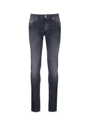 Acne Studios 'Ace' Light Wash Skinny Jeans Grey